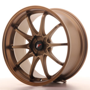 JR Wheels JR5 19x9.5 ET12-36 5H BLANK Dark Anodized Bronze