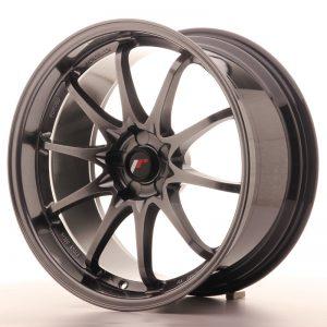 JR Wheels JR5 19x9.5 ET12-36 5H BLANK Hyper Black