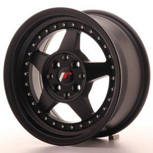 JR Wheels JR6 15x7 ET25 4x100/108 Matt Black