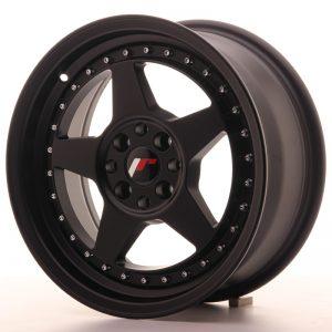 JR Wheels JR6 16x7 ET35 4x100/114 Matt Black