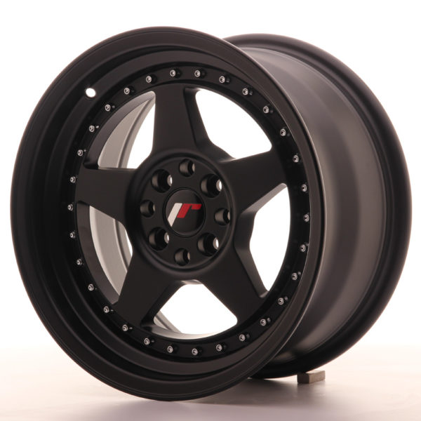 JR Wheels JR6 16x8 ET30 4x100/114 Matt Black