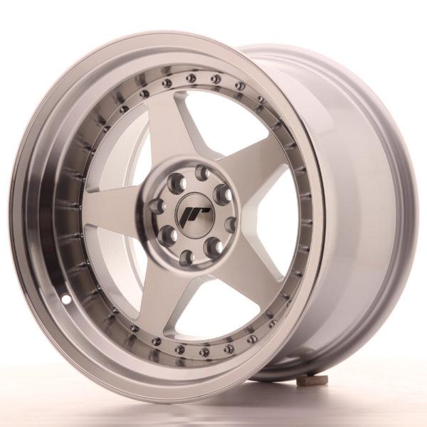 JR Wheels JR6 17x10 ET20 5x114/120 Silver Machined Face