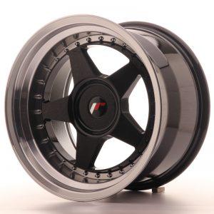 JR Wheels JR6 17x10 ET20 BLANK Gloss Black w/Machined