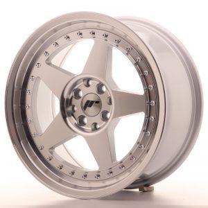 JR Wheels JR6 17x8 ET25 5x114/120 Silver Machined Face