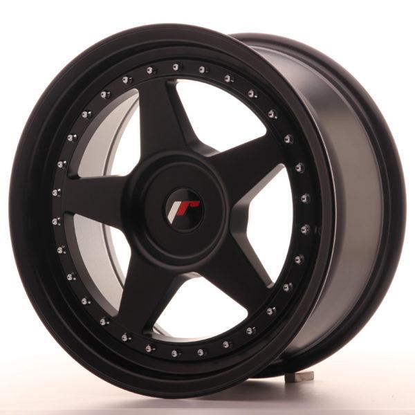 JR Wheels JR6 17x8 ET20-35 BLANK Matt Black
