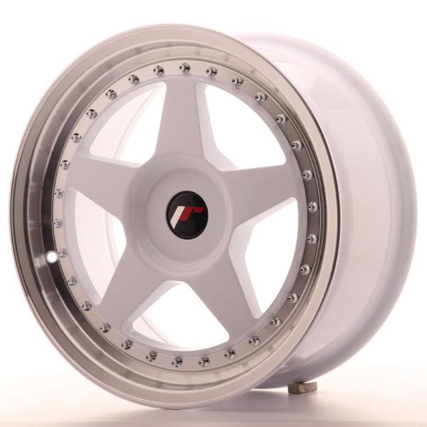 JR Wheels JR6 17x8 ET20-35 BLANK White