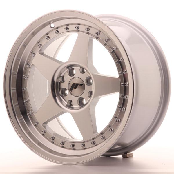 JR Wheels JR6 17x9 ET35 5x100/114 Silver Machined Face