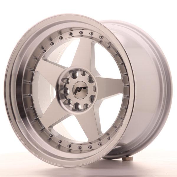 JR Wheels JR6 18x10,5 ET25 5x114,3/120 Silver Machined Face