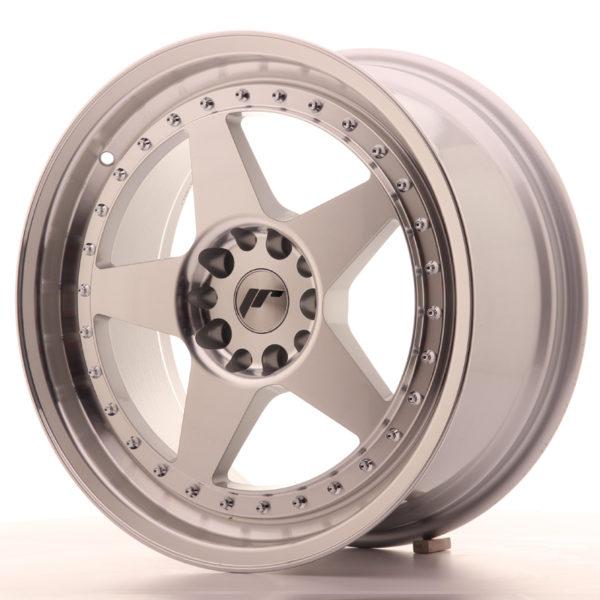 JR Wheels JR6 18x8,5 ET35 5x100/120 Silver Machined Face