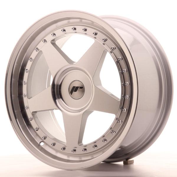JR Wheels JR6 18x8,5 ET20-40 BLANK Silver Machined Face