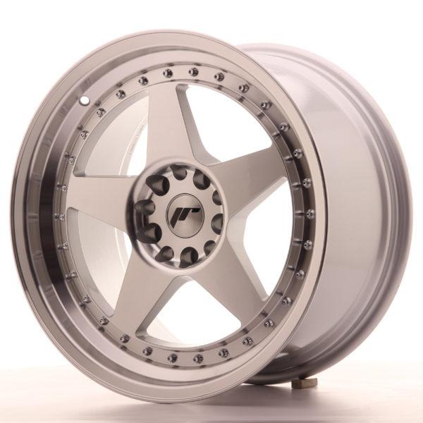 JR Wheels JR6 18x9,5 ET40 5x112/114,3 Silver Machined Face
