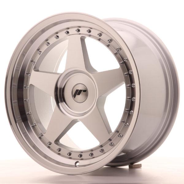 JR Wheels JR6 18x9,5 ET20-40 BLANK Silver Machined Face