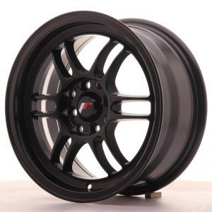 JR Wheels JR7 15x7 ET38 4x100/114 Matt Black