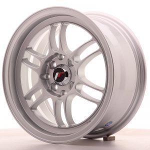 JR Wheels JR7 15x7 ET38 4x100/114 Silver