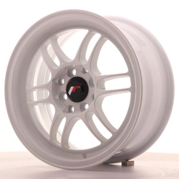 JR Wheels JR7 15x7 ET38 4x100/114 White