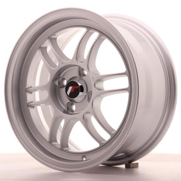JR Wheels JR7 15x7 ET38 4x100 Silver
