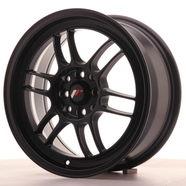 JR Wheels JR7 16x7 ET38 4x100/114 Matt Black