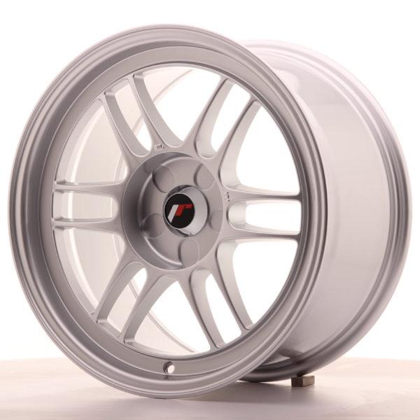JR Wheels JR7 17x9 ET35 5H BLANK Silver