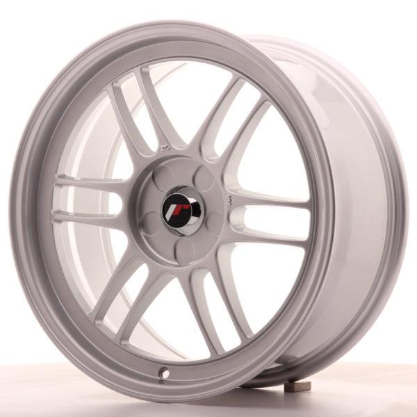 JR Wheels JR7 18x8 ET35 5H BLANK Silver