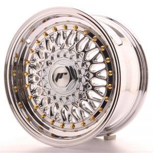 JR Wheels JR9 15x7 ET20 4x100/108 Chrome