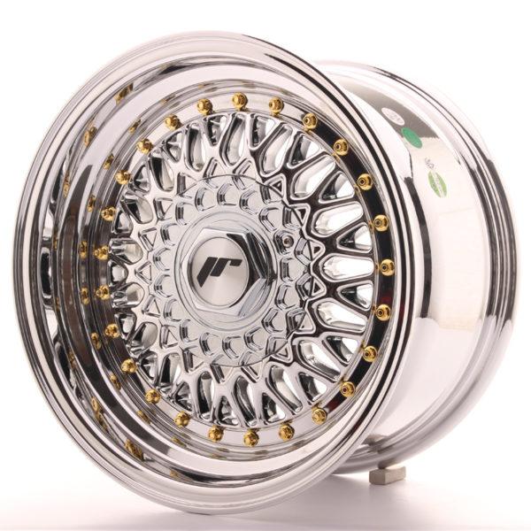 JR Wheels JR9 15x8 ET20 4x100/108 Chrome