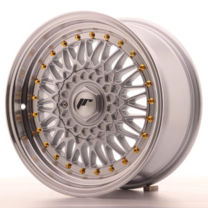 JR Wheels JR9 16x7,5 ET25 4x100/108 Silver w/Machined Lip