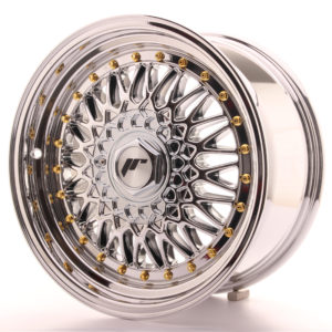 JR Wheels JR9 16x8 ET25 BLANK Chrome