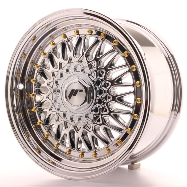 JR Wheels JR9 16x8 ET25 BLANK Chrome