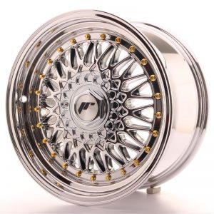 JR Wheels JR9 16x8 ET25 4x100/108 Chrome