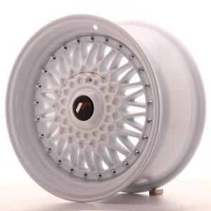 JR Wheels JR9 16x8 ET25 4x100/108 White Full Painted