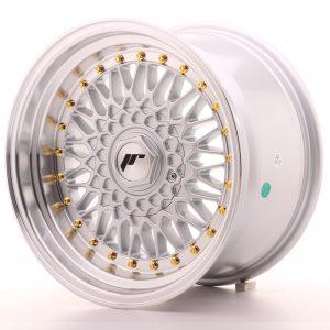 JR Wheels JR9 16x9 ET20 BLANK Silver w/Machined Lip