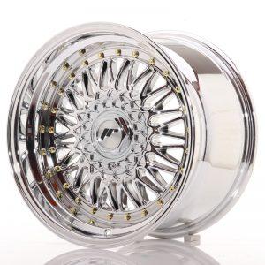 JR Wheels JR9 17x10 ET20 BLANK Chrome