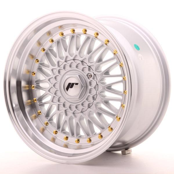 JR Wheels JR9 17x10 ET20 4x100/108 Silver w/Machined Lip