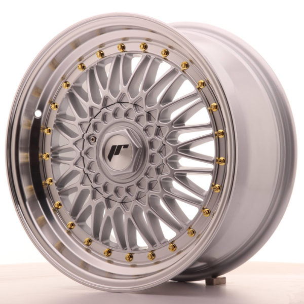 JR Wheels JR9 17x7,5 ET20 BLANK Silver w/Machined Lip