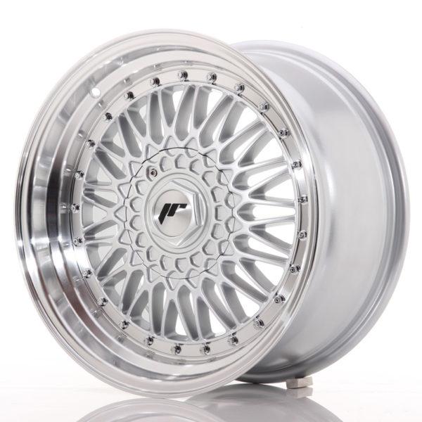 JR Wheels JR9 17x8,5 ET20 5x112/120 Silver w/Machined Lip+Silver Rivets