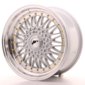 JR Wheels JR9 17x8,5 ET20-35 BLANK Silver w/Machined Lip