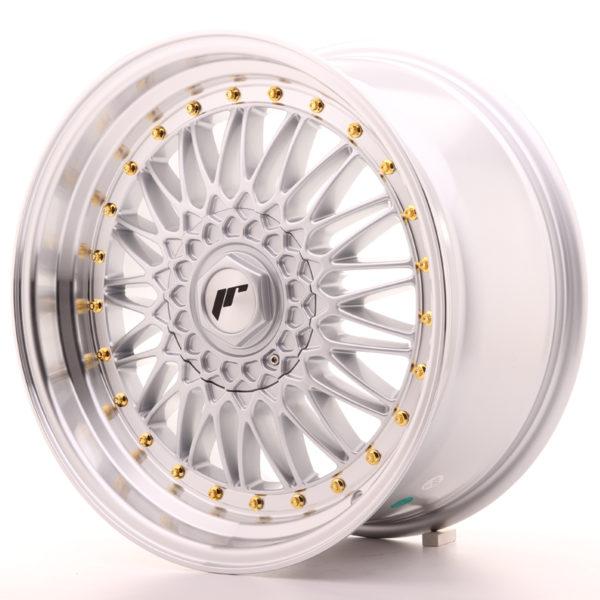 JR Wheels JR9 18x9 ET35 5x100/120 Silver w/Machined Lip