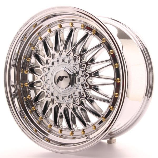 JR Wheels JR9 18x9 ET20-40 BLANK Chrome