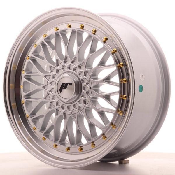 JR Wheels JR9 19x8,5 ET35 BLANK Silver w/Machined Lip