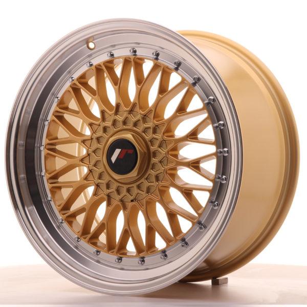 JR Wheels JR9 19x9,5 ET35 BLANK Gold w/Machined Lip