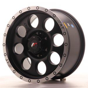 JR Wheels JRX4 17x8.5 ET20 6x139.7 Matt Black w/Machined Lip
