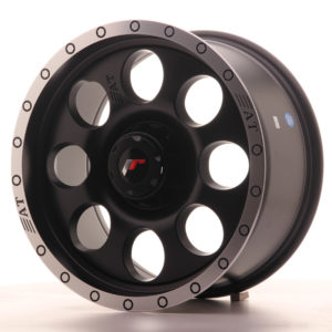 JR Wheels JRX4 17x8.5 ET20-35 BLANK Matt Black w/Machined Lip