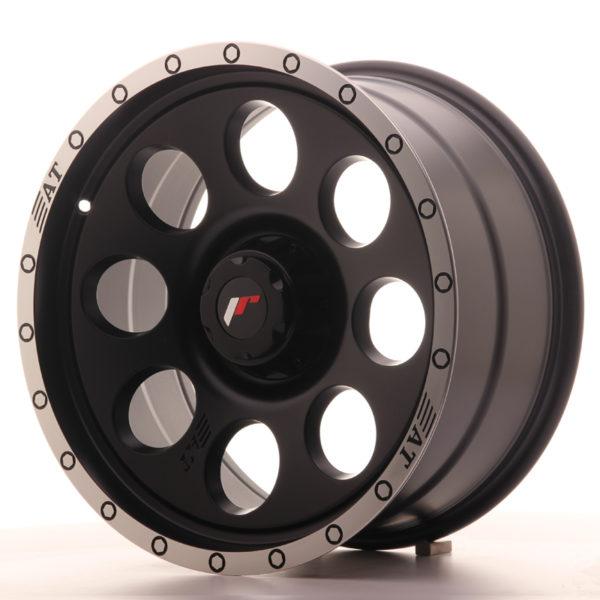 JR Wheels JRX4 18x9 ET20 6H BLANK Matt Black w/Machined Lip