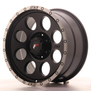 JR Wheels JRX4 18x9 ET20 6x139.7 Matt Black w/Machined Lip