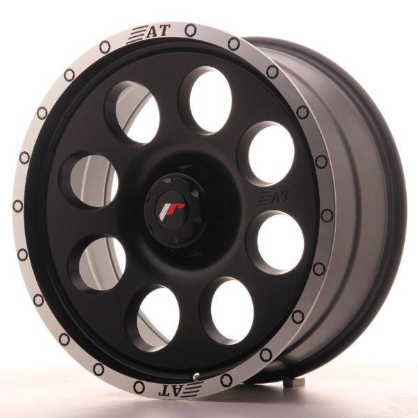 JR Wheels JRX4 20x9 ET0-25 6H BLANK Matt Black w/Machined Lip
