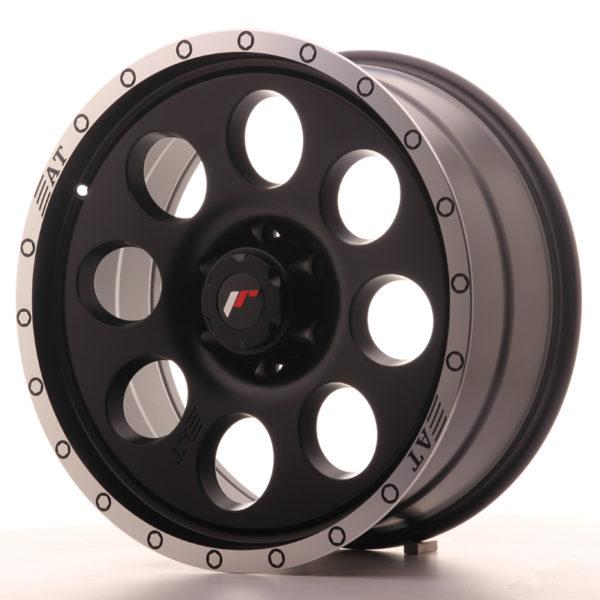 JR Wheels JRX4 20x9 ET20 6x139.7 Matt Black w/Machined Lip