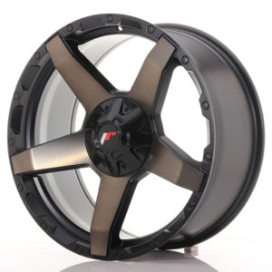 JR Wheels JRX5 20x9 ET20 6x139.7 Titanium Black